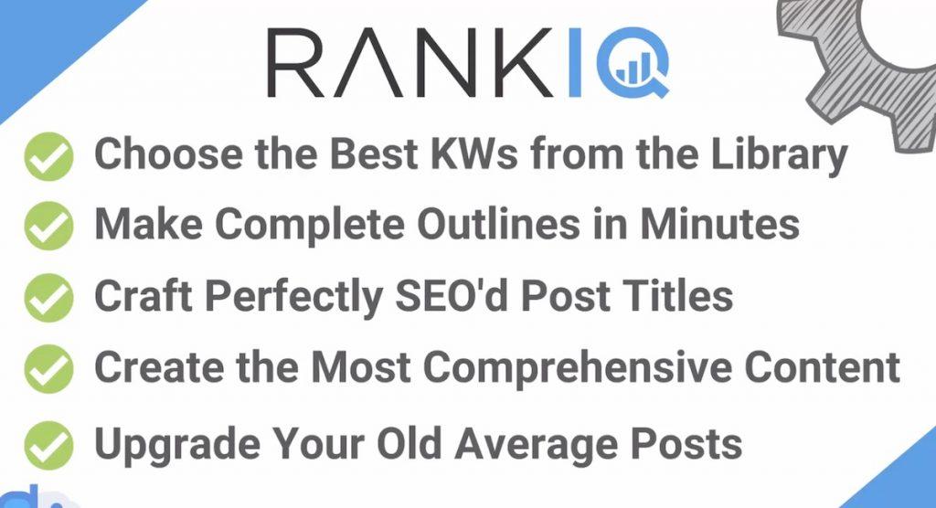 Pros of RankIQ - Is RankIQ good?